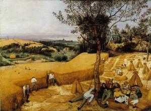 Pieter Bruegel's Harvesters, 1565