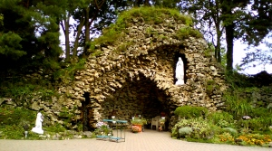 The Grotto at Bergamo - sacred space
