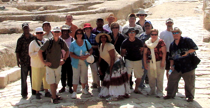 the group at Sepphoris