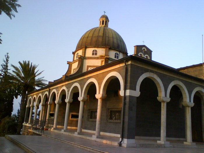 Mount of Beatitudes Church