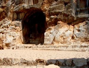 Pan's temple ruins