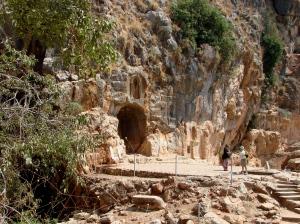 Pan's Temple complex at Caesarea-Philippi