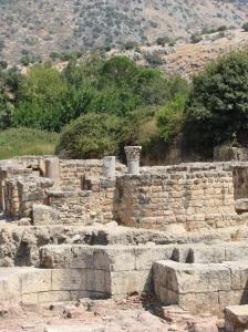 Herod-Philip's palace: Caesarea-Philippi