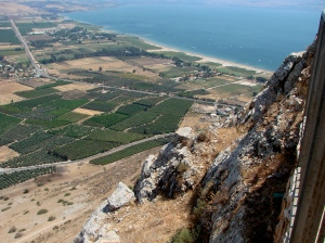The main highway through Galilee from Egypt to Mesopotamia