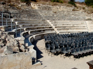 Sepphoris theater for the best in Greek and Roman drama