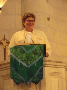 Mary: 22nd anniversary of ordination: Lutheran Palestinian church, Bethlehem