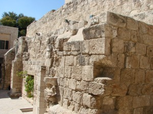 crusader church in Bethany