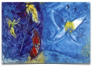 Jacob's Dream by Marc Chagall